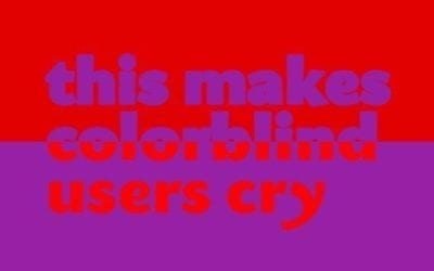 Why Color Blindness is No Longer a Problem for Web Design | Template Monster Blog