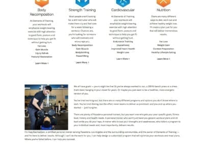 ElementsOfTraining.com