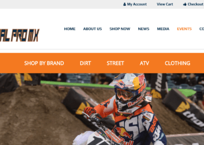 Global Pro MX Professional Supercross Racing Parts & Accessories.