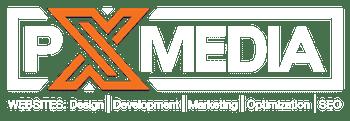 Web development Los Angeles - PX Media Logo