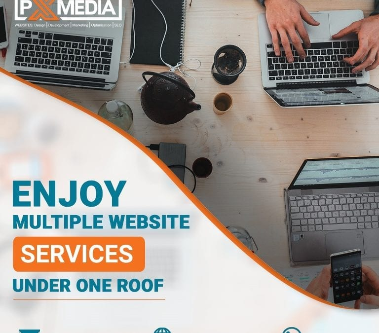 Enjoy Multiple Website Services under One Roof